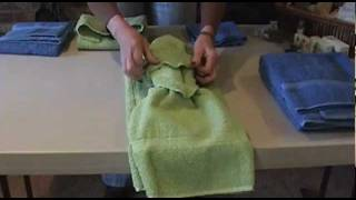 How to Tie Towels to Impress Your Clients