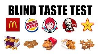 Blind Taste Test Chicken Nuggets