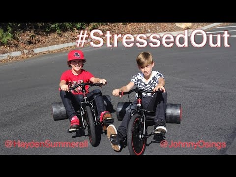 twenty one pilots: Stressed Out     Hayden Summerall and Johnny Orlando