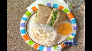 Healthier Back-to-School Lunch Ideas (Fall 2010 on KARE 11)