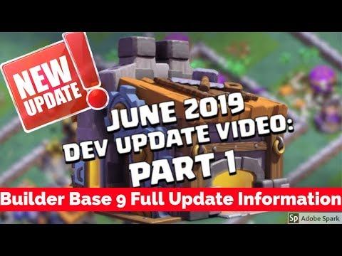 See You Later, Builder Base! (Builder Hall 9 | Clash of Clans ) |  Detail Update