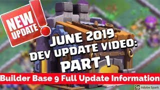 See You Later, Builder Base! (Builder Hall 9 | Clash of Clans Official) | Full Detail Update Video