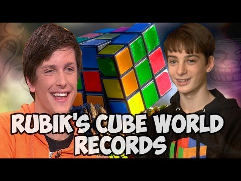 Rubik's cube world records 2016 New Edit