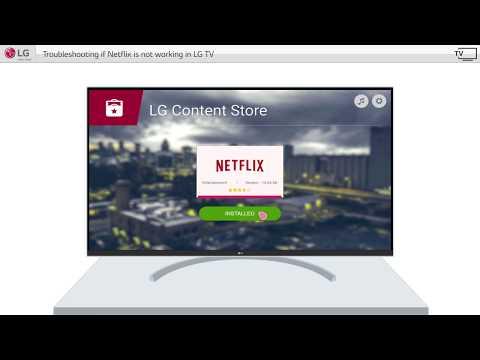 How to update netflix app on lg smart tv
