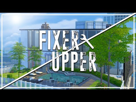 TORENDI TOWER PENTHOUSE // The Sims 4: Fixer Upper - Home Renovation