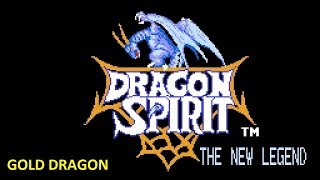 Dragon Spirit - Nes - GOLD DRAGON