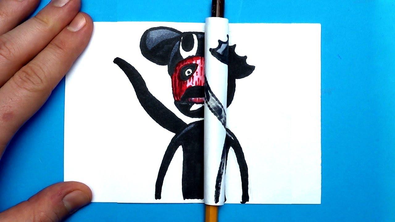 4 Amazing Trevor Henderson's Creation ARTS & PAPER CRAFTS