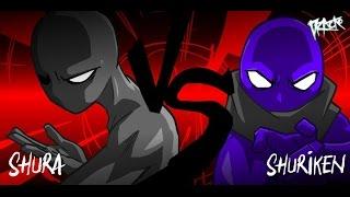 SHURA vs SHURIKEN (Soundline Challenge)