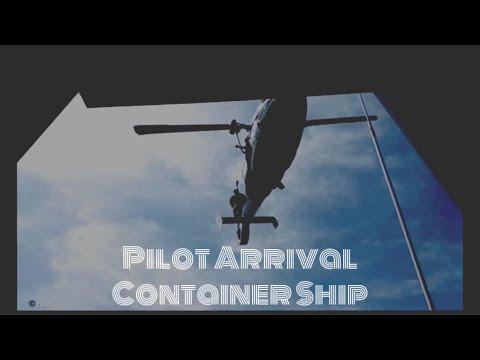 #seamanlife #lifeatsea                    Container Ship Pilot Boarding   Mega Container Ship   Vlog