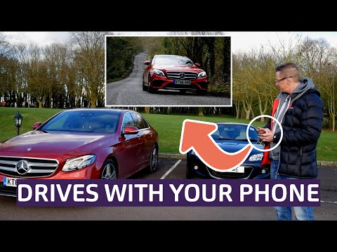Mercedes-Benz E-Class Saloon 2017 Review - Remote Parking Pilot and Concierge Service tested