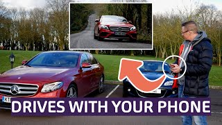 Mercedes-Benz E-Class Saloon Review - Remote Parking Pilot and Concierge Service tested