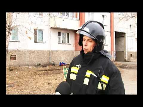В Саяногорске на пожаре пришлось эвакуировать ребенка