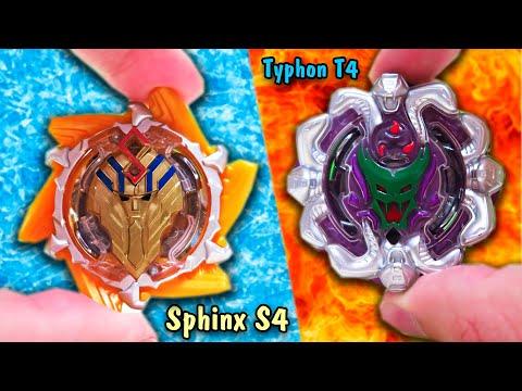 СФИНКС VS ТАЙФУН / Битва волчков от Hasbro / Beyblade Burst Evolution / Бейблейд турбо вибух