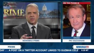 Newsmax Prime | Pat Buchanan talks about Donald Trump's surge in the polls