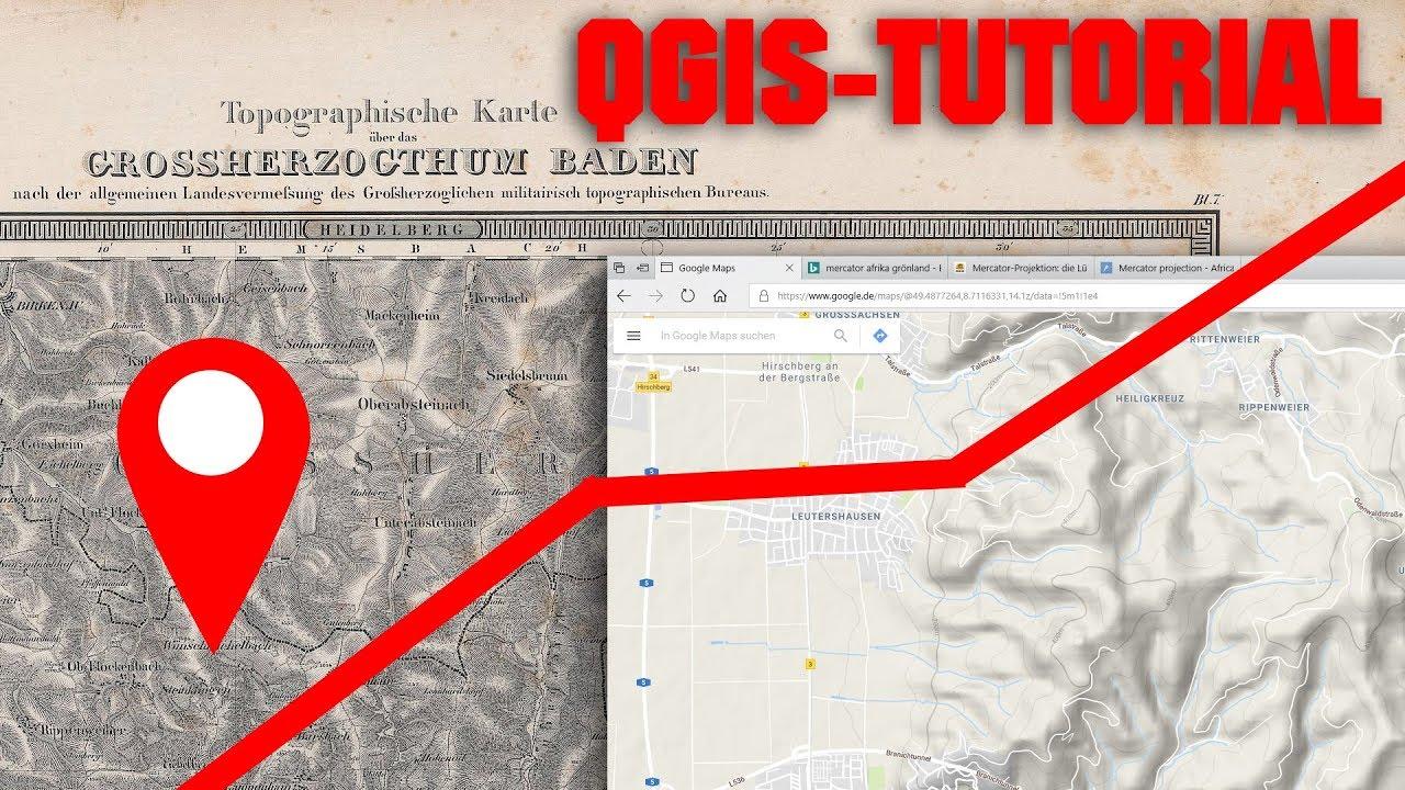 Karte Mit Markierungen Erstellen Kostenlos.Qgis Tutorial Daten Vektorisieren Und Karte Erstellen