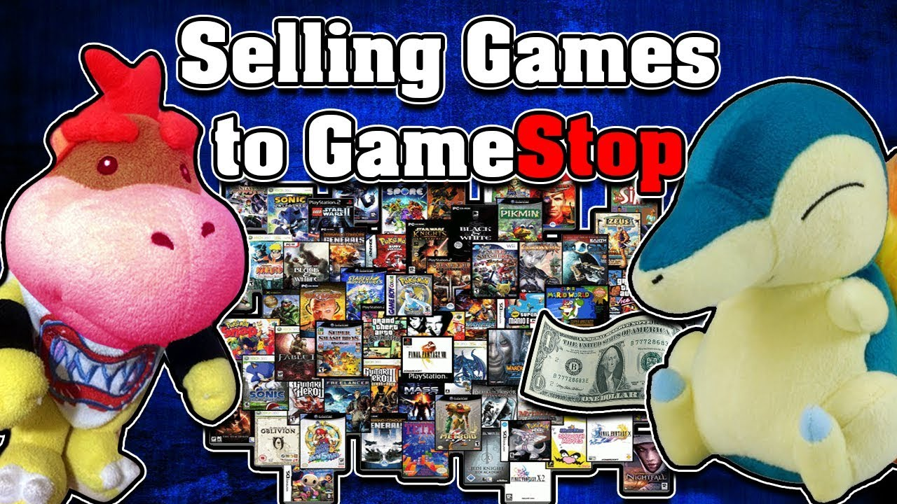 Selling Games To Gamestop Youtube