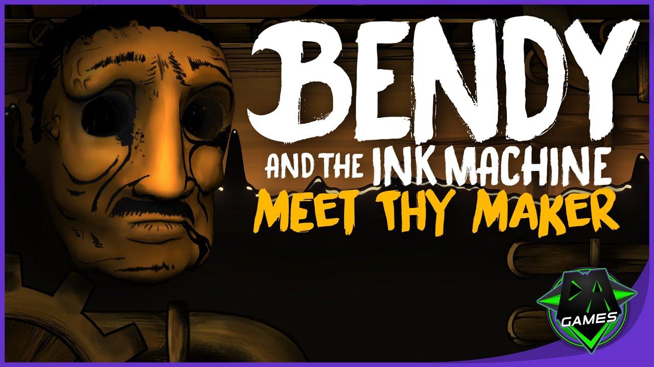 Bendy Song Meet Thy Maker Lyric Video Dagames Youtube