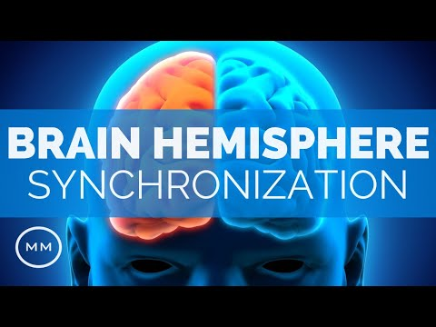 Brain Hemisphere Synchronization (v4) - Activate The Entire Brain - Alpha Binaural Beats