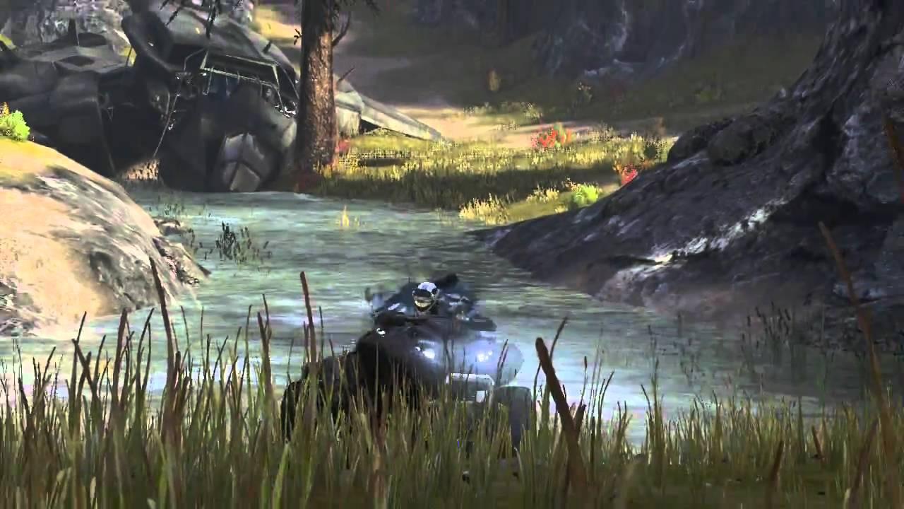 Halo Reach Racetrack: Highlands Death Race by CruelLEGACEY