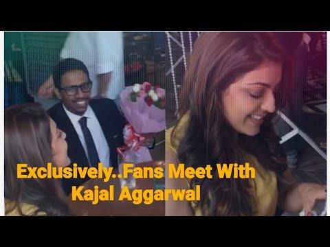 Lucky Fans Met Kajal Aggarwal | Kajal | Kajalism