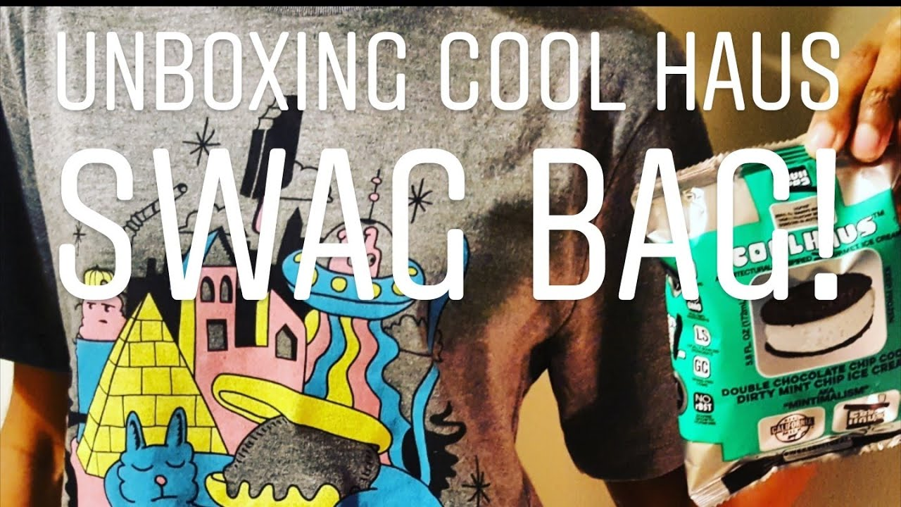 COOL HAUS BRAND AMBASSADOR! (SWAG BAG #UNBOXING!) - YouTube