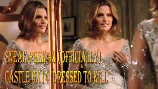"Castle 6x14 ""Dressed To Kill"" Sneak Peek #3 (Officially SP) Beckett in Wedding Dress"