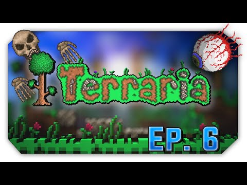 terraria-ep.-6-|-eye-of-cthulhu-and-skeletron!