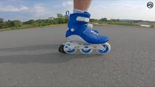 Powerslide Swell Royal Blue 100 fitness inline skate - Rolling Review