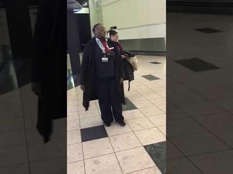Air Canada Employee Snatches Passenger's Phone