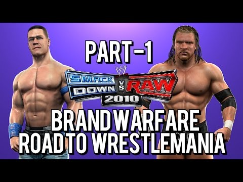 WWE SmackDown vs. Raw 2010: Road to WrestleMania - Brand Warfare - Part 1