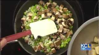 Seasons 52 Executive Chef Makes Herb & Mushroom Stuffing From Scratch