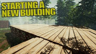 STARTING A NEW BUILDING | The Forest | Let
