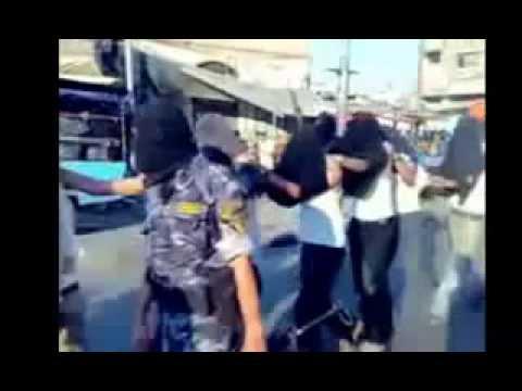 Hamas kills Palestinians in Gaza ( Rare Video) ( Must See)