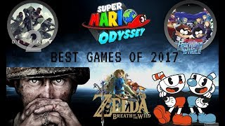 THE BEST GAMES OF 2017!? REACTION!