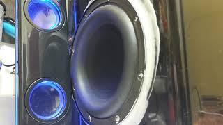 6 inch subwoofer bass test