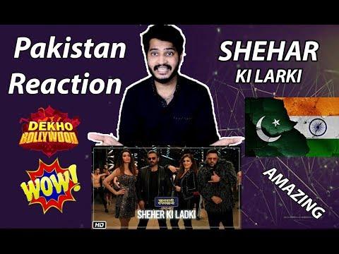 Download Lagu  Sheher Ki Ladki Song - Pakistan Reaction | Khandaani Shafakhana | Badshah, Tulsi Kumar, Diana Penty Mp3 Free