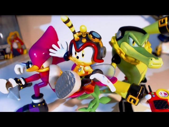 Figure Reviews: Chaotix 3 Pack (With Charmy!) --Jazwares Travel Video