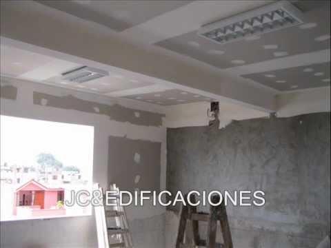 Pintar techos cocina banos