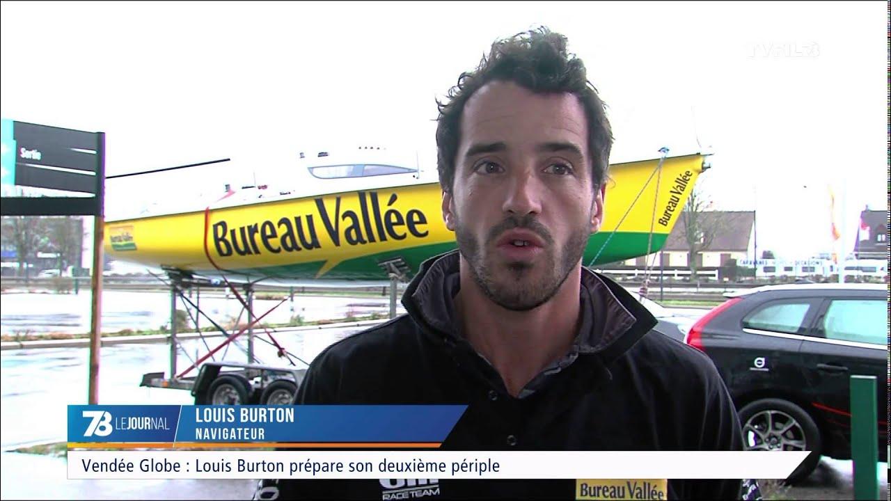 Vendée Globe : Louis Burton prépare son deuxième périple