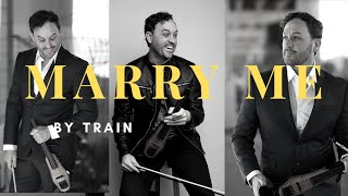 Marry Me (Train) - Timothy Espinosa - Solo Electric Violinist, www.theelectricviolinist.com
