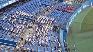 帝京第五高校・川之江高校応援団、試合後のエール交換 thumbnail