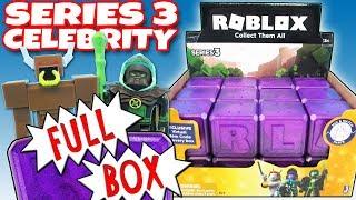 Нові серії Celebrity Roblox на 3 повних коробки фіолетовий Таємниця шкатулок, що відкривають іграшки огляд | вірний іграшковий канал