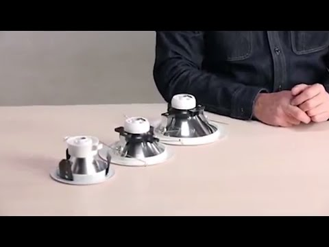 Hyperbolic Silent Ceiling Reflector Trim - Install