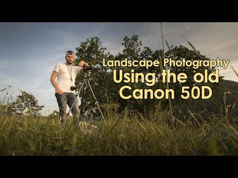 Photo experiment: Photographing landscapes with the old Canon 50D!