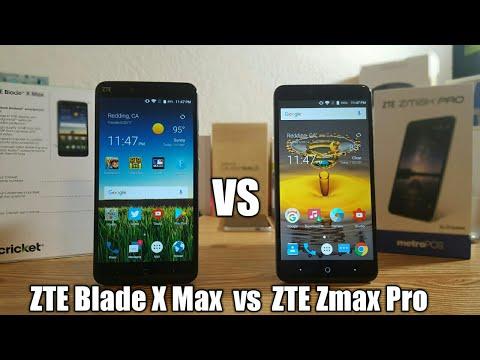 ZTE Blade X Max vs ZTE Zmax Pro Speed Test