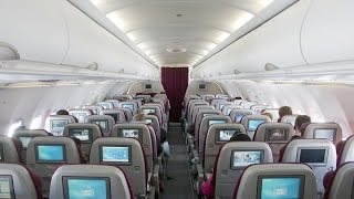 QATAR AIRWAYS A320 NEW ECONOMY CLASS  I  MALE - DOHA