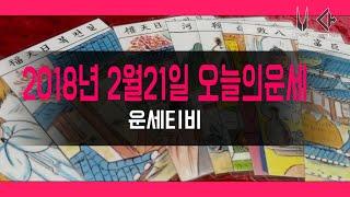 오늘의운세 2018년 2월21일 원숭이띠 날 띠별 타로운세 : 운세티비