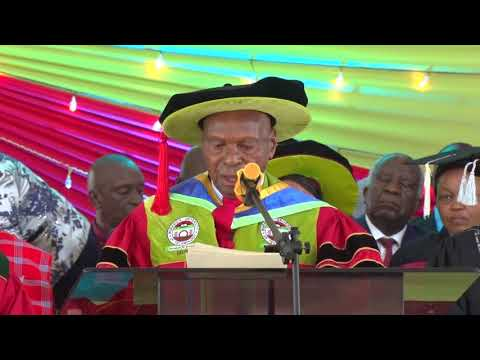 Second liberation multi party crusader Charles Rubia after receiving an honorary doctorate