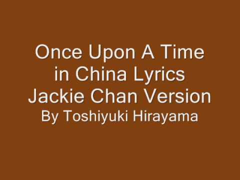 Once upon a time in china jackie chan version