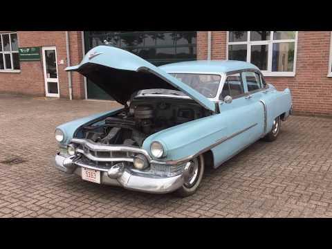 1951 Cadillac Series 62   engine running